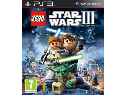PS3 Lego Star Wars 3 The Clone Wars