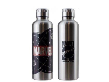 Merch Láhev Paladone Marvel Logo Metal Water Bottle
