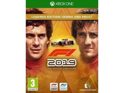 XONE F1 2019 Legends Edition