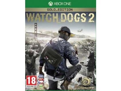 XONE Watch Dogs 2 Gold Edition CZ