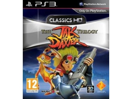 PS3 The Jak and Daxter The Trilogy HD Collection
