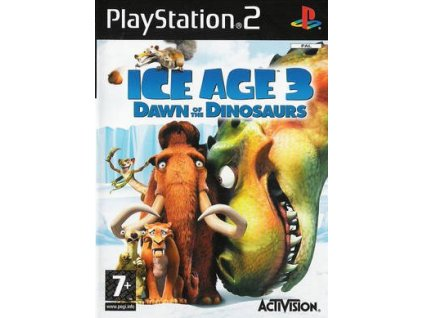 PS2 Ice Age 3 Dawn of the Dinosaurus