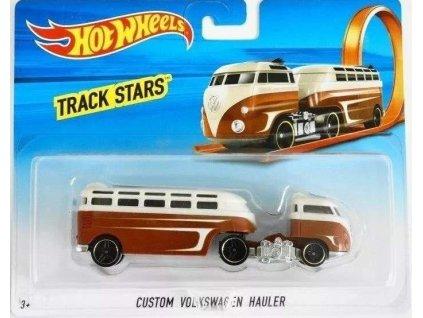 Toys Wheels Track Stars Trailers Custom Volkswagen Hauler Nové
