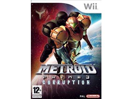 Wii Metroid Prime 3 Corruption