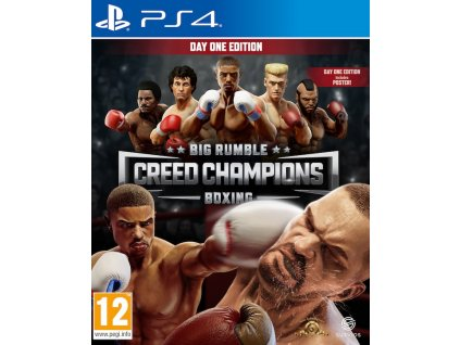 PS4 Big Rumble Boxing Creed Champions Day One Edition