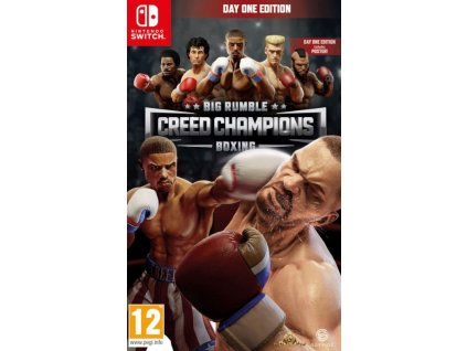 Switch Big Rumble Boxing Creed Champions Day One Edition