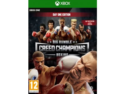 XSX Big Rumble Boxing Creed Champions Day One Edition