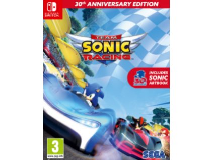 Switch Team Sonic Racing 30Th Anniversary Edition