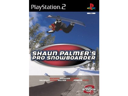 PS2 Shaun Palmers Pro Snowboarder