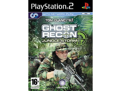 PS2 Tom Clancys Ghost Recon Jungle Storm