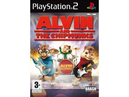 PS2 Alvin and the Chipmunks