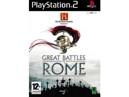 PS2 The History Channel Great Battles of Rome