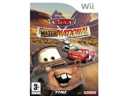 Wii Disney Cars Mater-National Championship