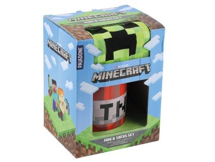 Merch Set hrnek TNT a ponožky Minecraft