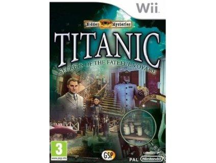 Wii Hidden Mysteries Titanic