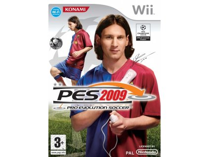 Wii Pro Evolution Soccer 2009