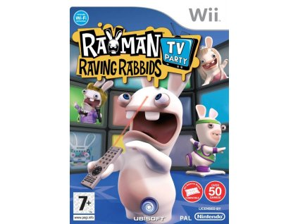 Wii Rayman Raving Rabbids TV Party