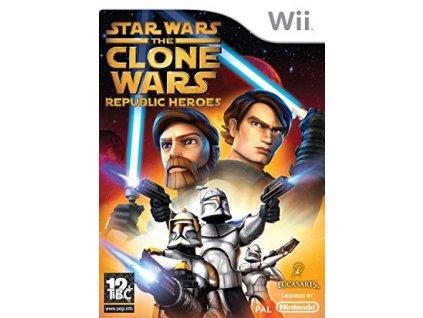 Wii Star Wars The Clone Wars Republic Heroes
