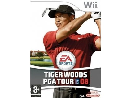 Wii Tiger Woods PGA Tour 08