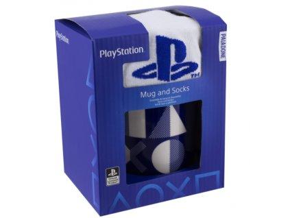 Merch Dárkový Set Hrníček ponožky Playstation