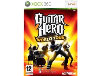 X360 Guitar Hero World Tour