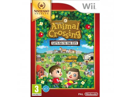 Wii Animal Crossing Lets go to The City