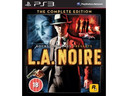 PS3 L.A. Noire The Complete Edition