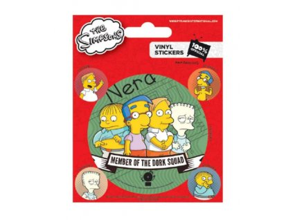Merch Samolepky The Simpsons
