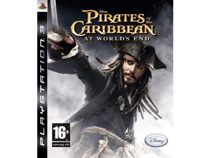 PS3 Pirates of the Caribbean At Worlds End