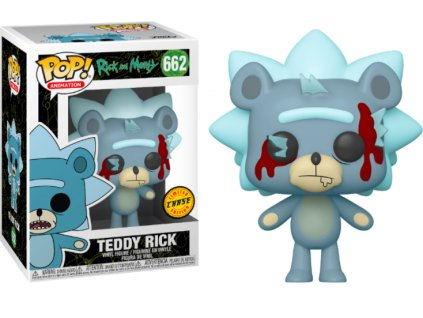 Merch Funko Pop! 662 Rick and Morty Teddy Rick Limited Chase Edition