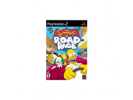 PS2 Simpsons Road Rage