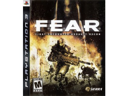 PS3 FEAR First Encounter Assault Recon