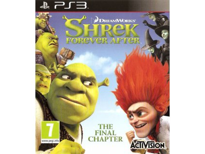 216757 shrek forever after the final chapter playstation 3 front cover