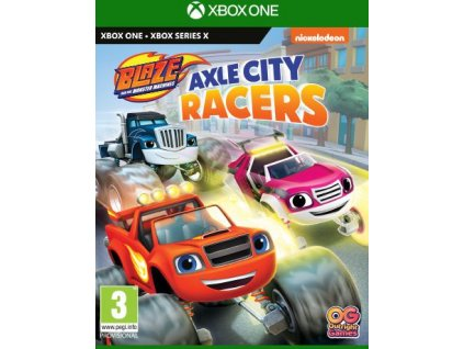 XONE Blaze And The Monster Machines Axle City Racers