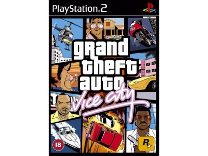 grand theft auto vice city ps2 1