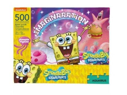 Merch Puzzle Spongebob 500 dílků