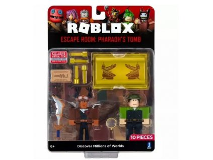 Toys Roblox Escape Room Pharaohs Tomb Game Pack