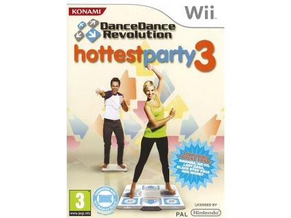 Wii Dance Dance Revolution Hottest Party 3