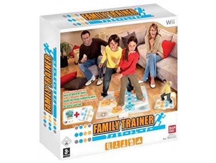Wii Family Trainer + Dance Mat