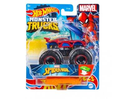 Toys Hot Wheels Monster Trucks Marvel Spider Man
