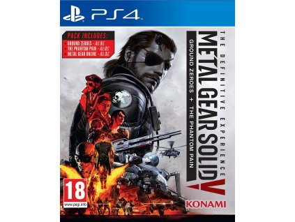 PS4 Metal Gear Solid V The Definitive Experience