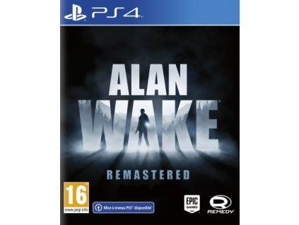PS4 Alan Wake Remastered