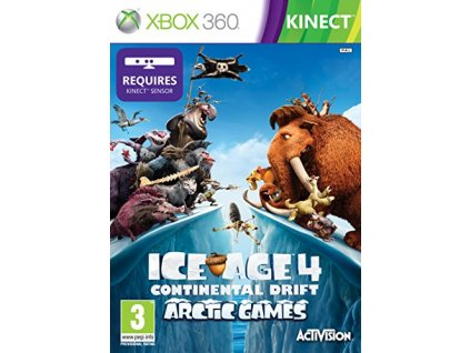 X360 Ice Age 4 Continental Drift Arctic Games