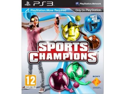 sports champions ps3 pouzite
