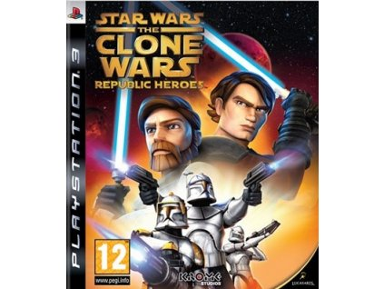 PS3 Star Wars The Clone Wars Republic Heroes