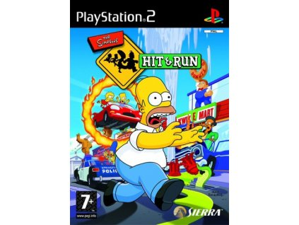 PS2 The Simpsons Hit and Run