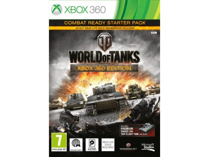 xbox 360 world of tanks combat ready starter pack ien200015
