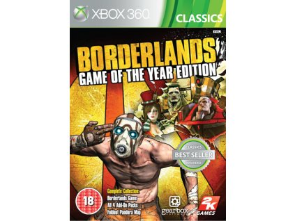 X360 Borderlands Game of the Year Edition