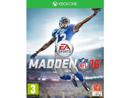 XONE Madden NFL 16
