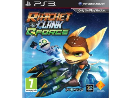 PS3 Ratchet & Clank Q-Force